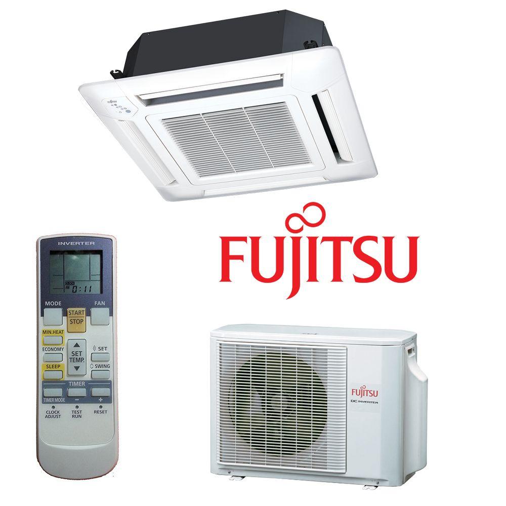 Aparat de aer conditionat Caseta FUJITSU 14000 btu AUYG14LVL, Compresor Inverter, Clasa A++