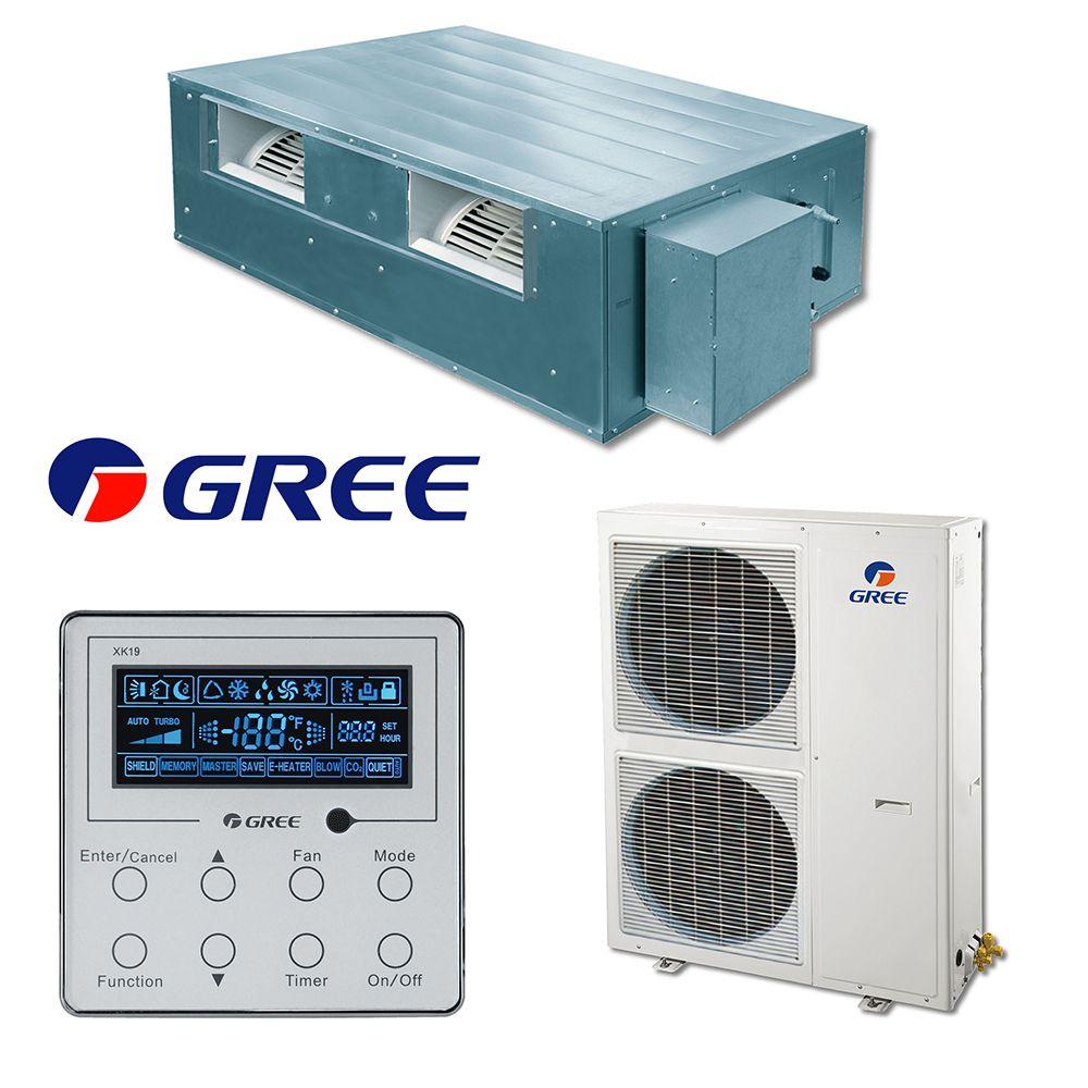 Aparat de aer conditionat Duct GREE 42000 btu GFH42K3FI - GUHD42NK3FO, Compresor Inverter, Clasa A+