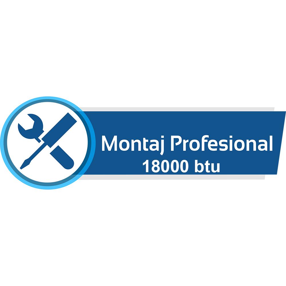 Montaj Profesional aparat de aer conditionat 18000 btu - Bucuresti /  Ilfov (3 ml)