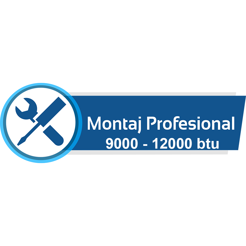 Montaj Profesional aparat de aer conditionat 9000 / 12000 btu - Bucuresti /  Ilfov (3 ml)