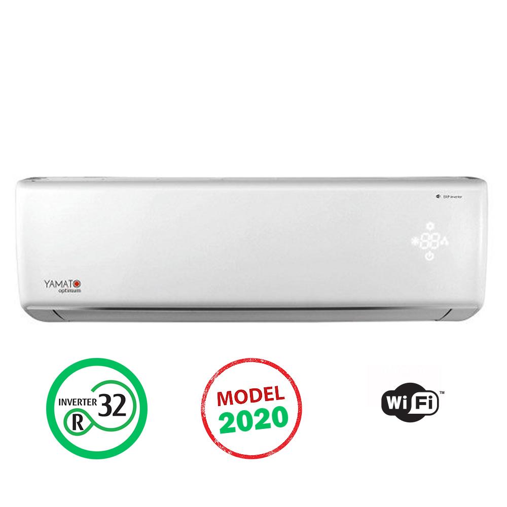 Aparat de aer conditionat YAMATO Eco Inverter OPTIMUM 12000 btu - YW12IG6, Modul WiFi Integrat, Freon Ecologic R32, Clasa A++, Afisaj LED, Model 2020